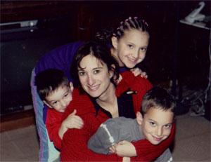 Shari and her kids